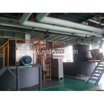 High Thermal Efficiency Rotary Spin Flash Drying Machine
